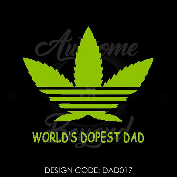 WORLD'S DOPEST DAD - DAD017