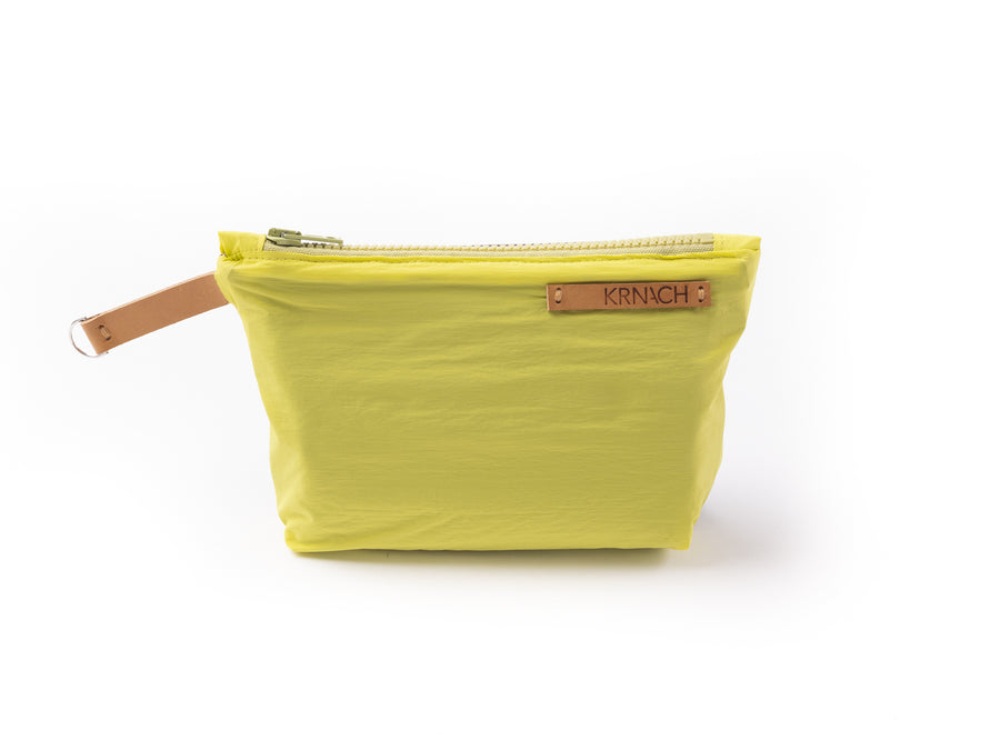 Large Zip Pouch   Cannelle