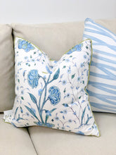 Load image into Gallery viewer, Pillow, Khilana Floral (Peacock)