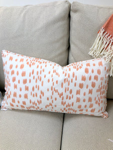 Pillow,  Les Touche (Tangerine)