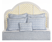 Load image into Gallery viewer, Jasmine Bedding, Blue