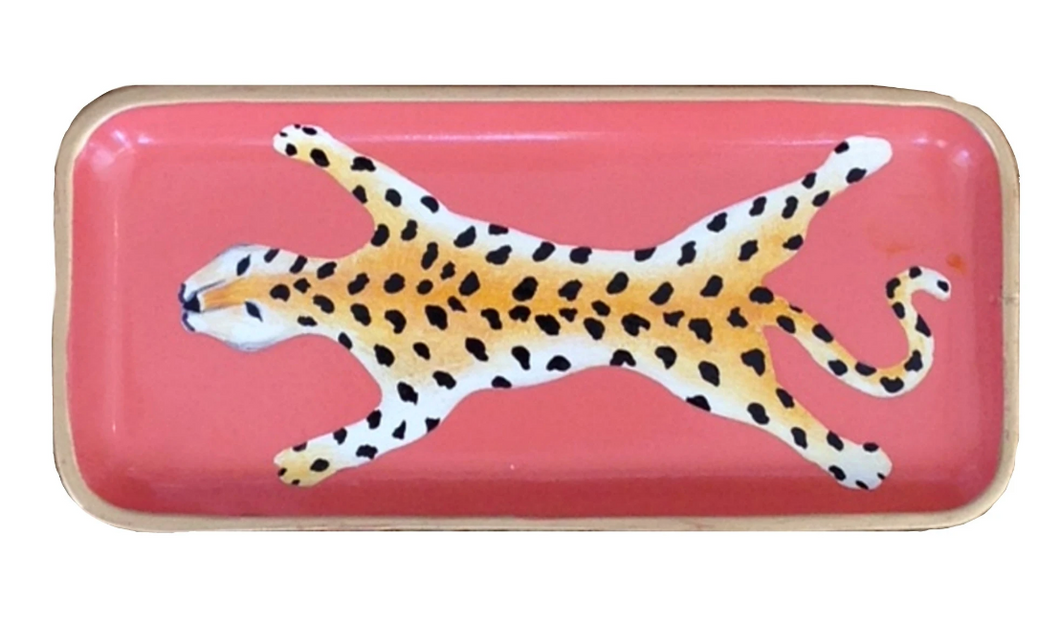 Small Leopard Tray (2 Colors)