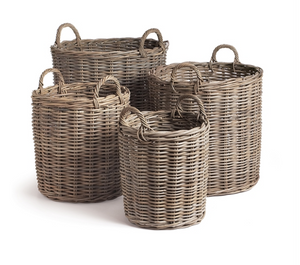 Normandy Baskets, Gray