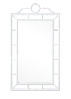 Chloe Mirror, White