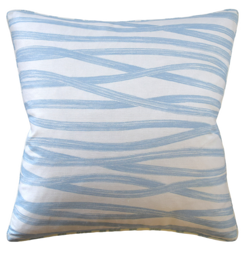 Pillow, Brushstrokes (Sky)