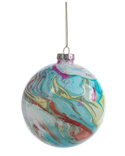 Load image into Gallery viewer, Marble Metallic Ornament
