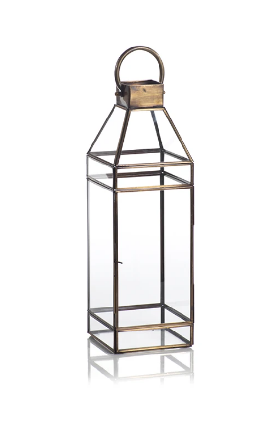 Antique Brass Medium Lantern