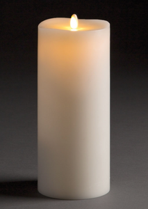 "Flameless Candle Pillar 3.5"" x 7"""