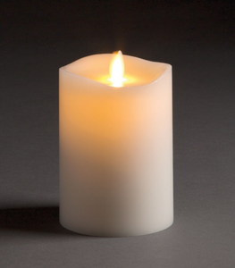 "Flameless Candle 3.5"" x 5"""