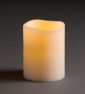 "Flameless Candle, 3.5"" x 5"""
