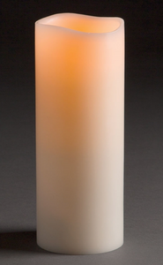 "Flameless Candle, 3.15"" x 8.5"""