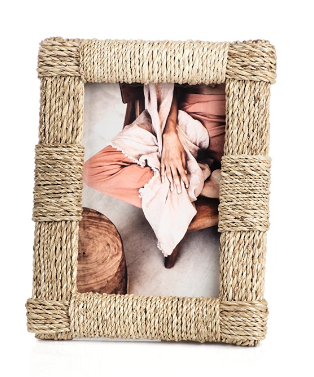 Abaca Rope Photo Frame 5x7