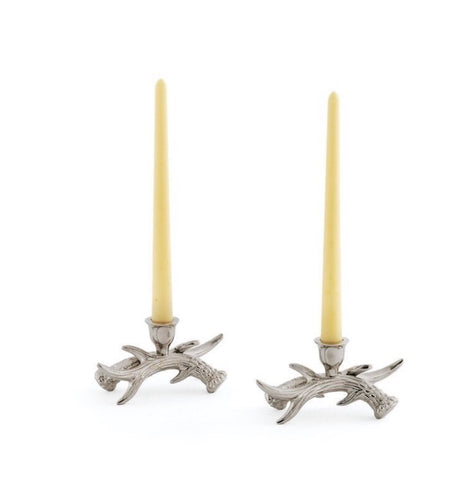 Pair of Stag Candle Holders