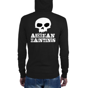 American Hauntings Logo Zip Up Hoodie - American Hauntings
