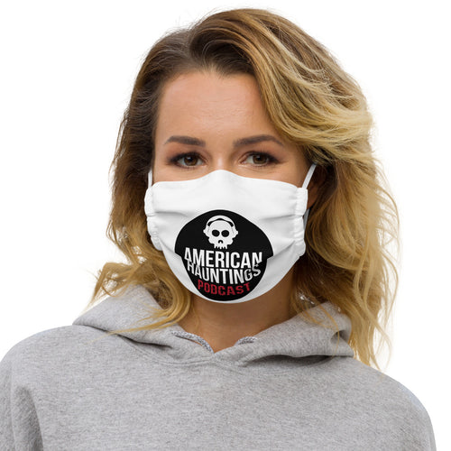 Podcast Big Logo Facemask