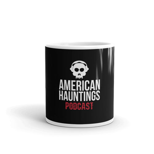 American Hauntings Logo Coffee Mug (black) - American Hauntings