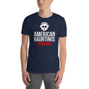 American Hauntings Podcast Short Sleeve Tee Shirt - American Hauntings