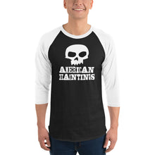 Load image into Gallery viewer, American Hauntings Logo 3/4 Sleeve Shirt - American Hauntings