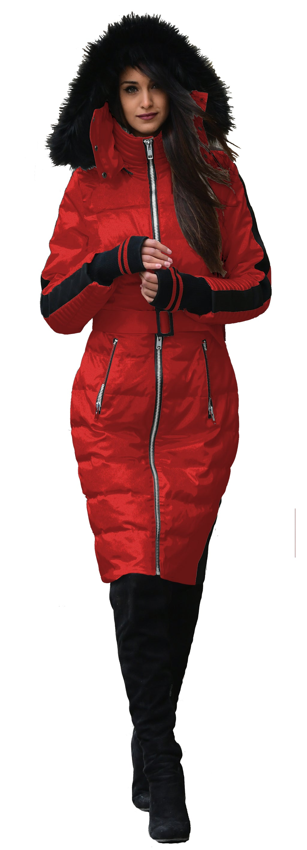 Red Advanced Core Insulated Down Jacket