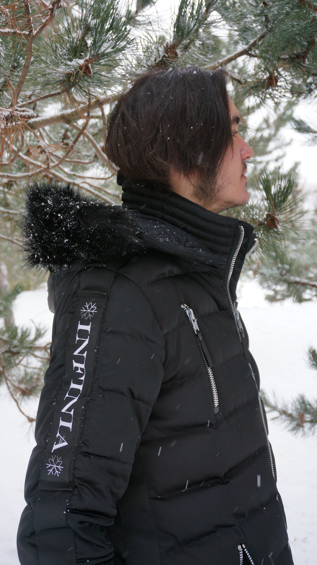 Smart Heated Multifunctional Down Jackets for Men