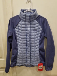 bc4b238cb $180 The North Face Women Thermoball Hybrid Jacket Blue Small