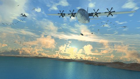 "The Defense Advanced Research Projects Agency (DARPA) has selected defense contractor Dynetics to develop its vision of small, uncrewed aircraft that are launched from warplanes and recovered in midair. Known as ""Gremlins,"" the small drones are meant to be reusable and reconfigurable, flying again with 24 hours. ufo gear store"