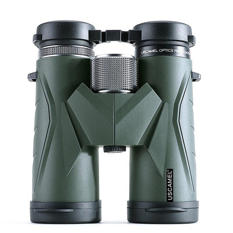 USCAMEL Binoculars 10x42 Waterproof Telescope Professional Hunting Optics Camping Outdoor (Army Green) - UFO GEAR STORE