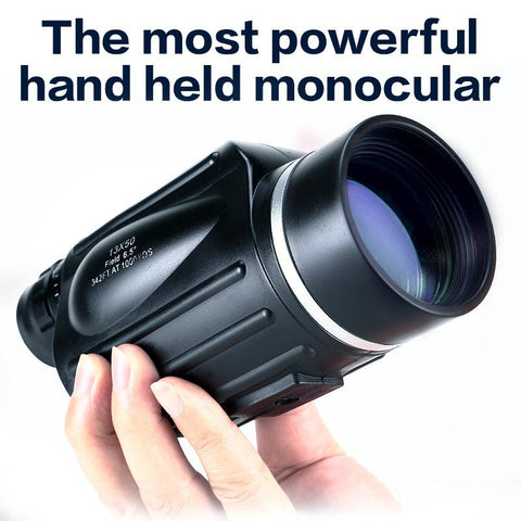 Hunting 13x50 Big Vision Monocular Powerful Handheld Telescope - UFO GEAR STORE