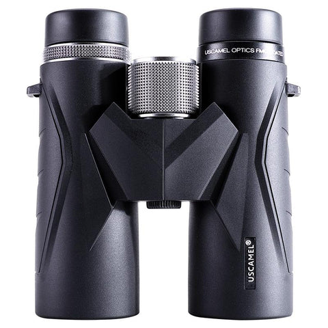 USCAMEL Binoculars 8x42 Waterproof Telescope Professional Hunting Optics Camping Outdoor (Black) - UFO GEAR STORE