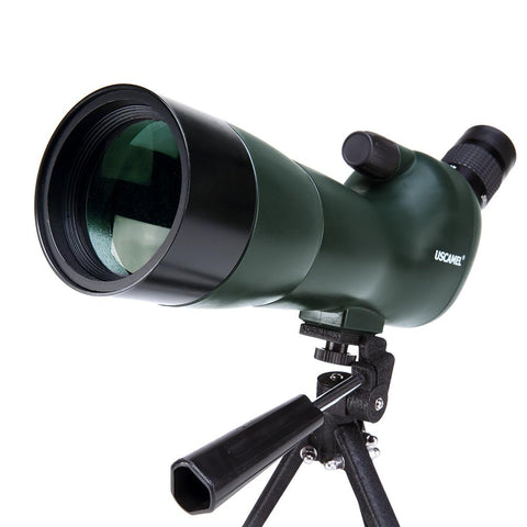 USCAMEL Bird Watching Waterproof Spotting Scope - 20-60x60 Zoom Monocular Telescope - With Tripod - with Camera Photography Ada - UFO GEAR STORE