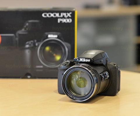 Nikon CoolPix P900 16MP 83x Digital Camera - UFO GEAR STORE