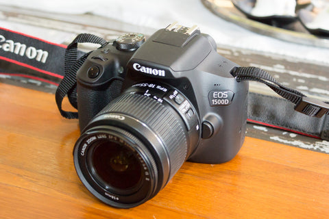 Canon EOS 1500D / Rebel T7 DSLR Camera with EF-S 18-55mm f/3.5-5.6 IS II Lens - UFO GEAR STORE