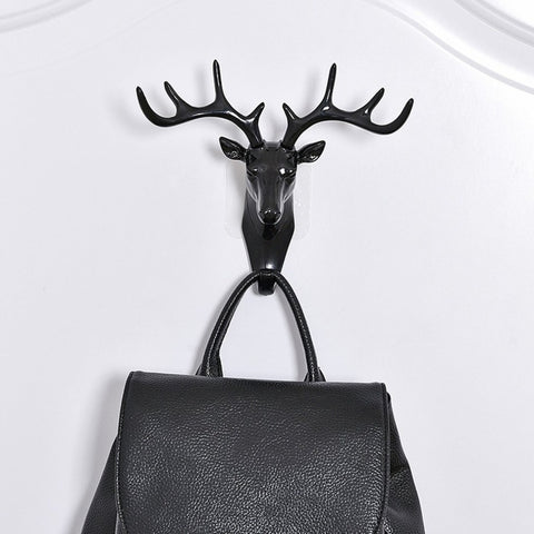 vintage deer hanging rack