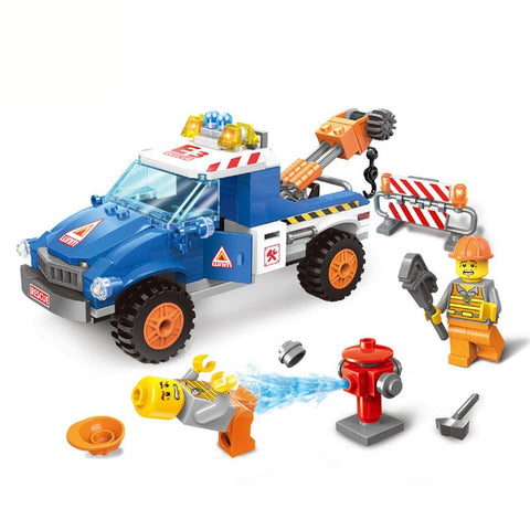 Image of Build Your Own Toy Truck Kit For Kids