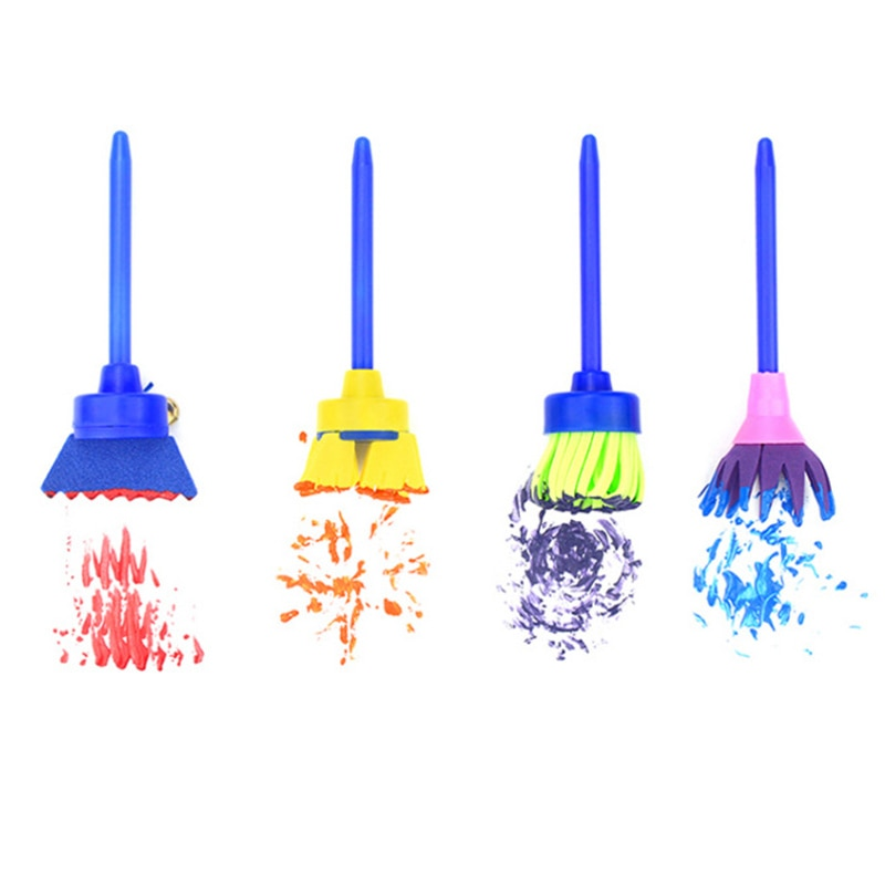 Paint Brush 4 Piece Set for Kids