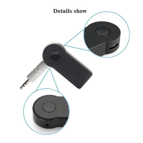 Image of Handsfree Bluetooth Wireless Receiver Adapter for Aux 3.5mm