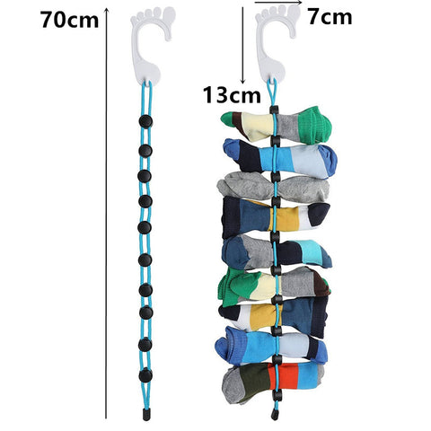 Image of Hanging sock organizer