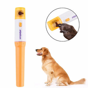 Painless Pet Pedicure Nail Trimmer for Dog & Cats Grooming Electric Kit