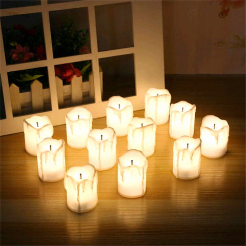 Therapeutic LED candles
