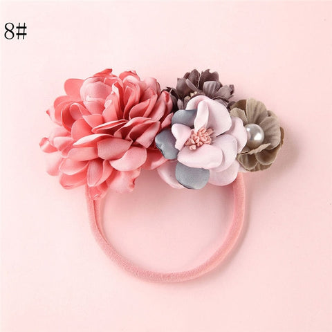 Kids floral headbands