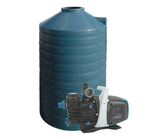 1000L Poly Water Tank & Pump Package