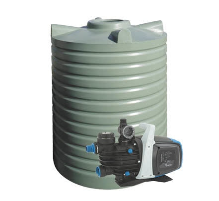 2614L Poly Water Tank & Pump Package Deal