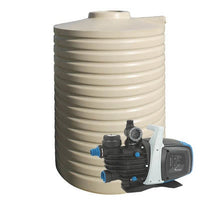Load image into Gallery viewer, 3000L Poly Water Tank & Pump Package Deal