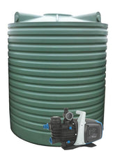Load image into Gallery viewer, 5000L Tall Poly Water Tank Pump Package