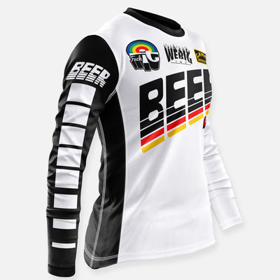 BEER SLAYER JERSEY WHITE