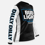 DILLY DILLY RACE TEAM JERSEY BLACK