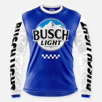 BUSCH LIGHT RACE TEAM JERSEY ROYAL BLUE