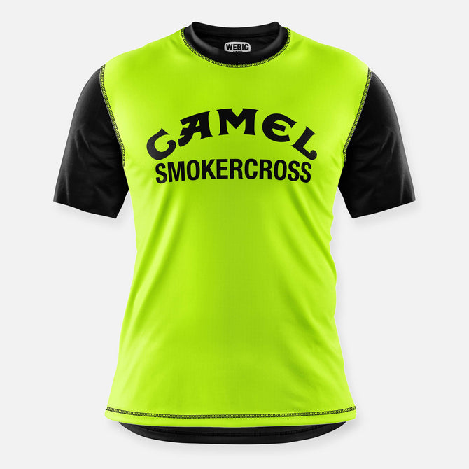 CAMEL SMOKERCROSS BIKE JERSEY DAY GLOW YELLOW