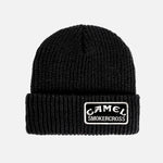 CAMEL SMOKERCROSS BLACK PATCH BEANIE