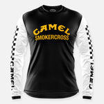 CAMEL SMOKERCROSS JERSEY BLACK-WHITE